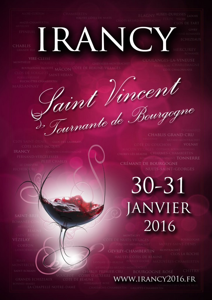 Affiche Saint-Vincent Irancy