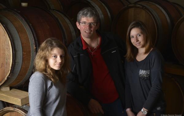 Bruno Verret et ses filles