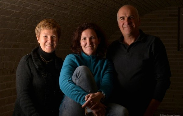 Christine, Elodie & Patrick Chalmeau